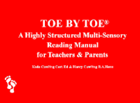 21TRA027 Toe by Toe Online Training for Teachers, SNAs & Parents