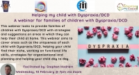 21TRA057 Helping my child with Dyspraxia/DCD