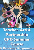 20TRA477 Teacher Artist Partnership- CPD for enhancing Arts Education in Ireland - ONLINE