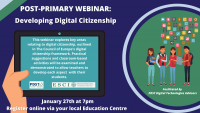 21TRA131 Developing Digital Citizenship (Post-Primary)